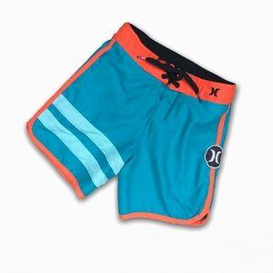Hurley Boys Swim Trunks Board Shorts Blue Toddler